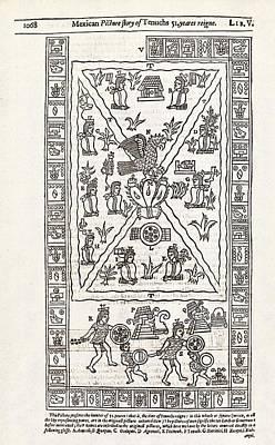Reign Of Aztec Ruler Tenoch Poster