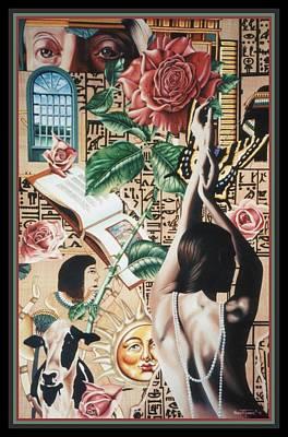 Reign Of Roses Poster by Nancy M Garrett