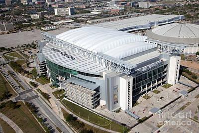 Reliant Stadium In Houston Poster