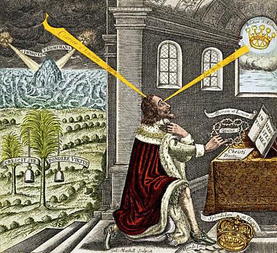 Reliquiae Sacrae Carolinae, Charles Poster by Science Source