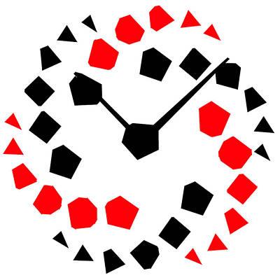 Reloj Moderno Poster by Galeria Zullian  Trompiz