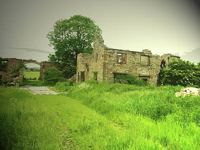 Remains Of Lodge Farm, This Ruin Was Likely Poster by Litz Collection