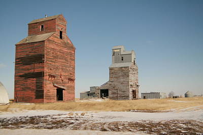 Remains Of Redstone Montana Poster by Jeff Swan