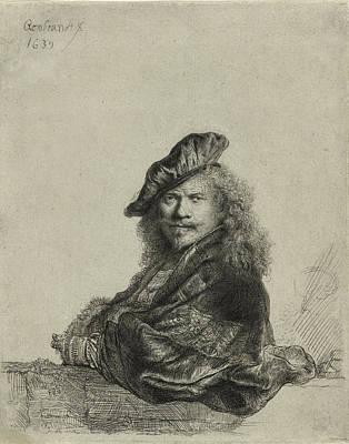 Rembrandt Self Portrait 1639 Poster