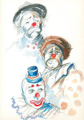Remember The Clowns Poster