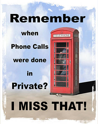 Remember When . . . Poster by Mike McGlothlen