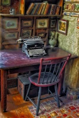 Remington Noiseless No 6 Typewriter Poster by Susan Candelario