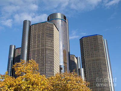 Rencen And Autumn Gold Poster