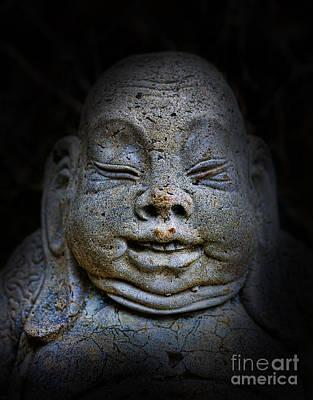 Qieci The Fat Budai - Fat Buddha Poster by Lee Dos Santos