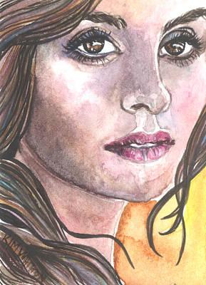 Rene Poster by Kim Whitton