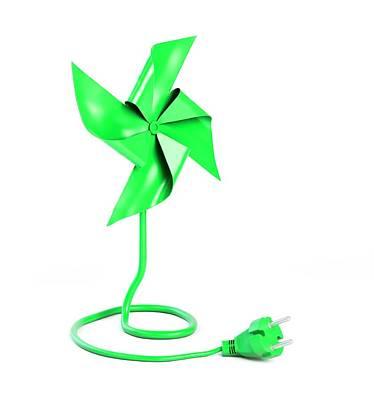 Renewable Energy Poster by Andrzej Wojcicki