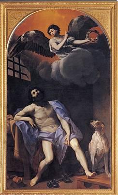 Reni Guido, St Roch In Prison, 1617 - Poster