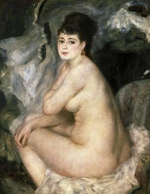 Renoirpierre-auguste 1841-1919. Nudeor Poster by Everett