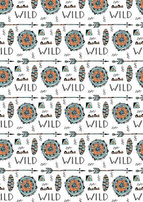 Repeat Print - Wild Poster
