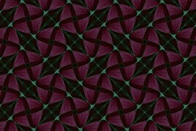 Repeating Patterns 4 Poster