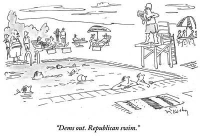 Republicans Swim Poster
