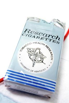 Research Cigarettes Poster