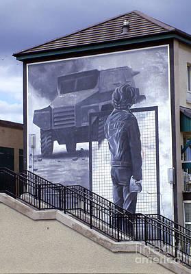 Derry Mural Resistance Poster by Nina Ficur Feenan