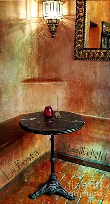 Restaurante La Posta Poster by Barbara Chichester