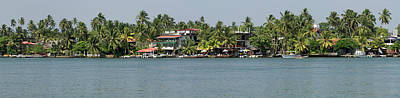 Restaurants Along The Bentota River Poster by Panoramic Images