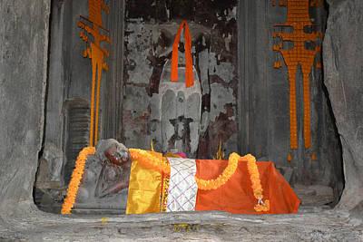 Resting Buddha Poster by Bill Mock