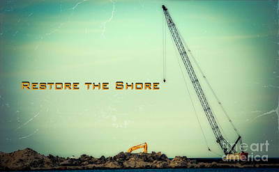 Restore The Shore Poster by Colleen Kammerer