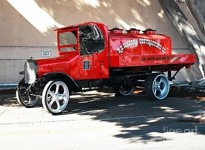 Restored 1922 Mack Truck Poster