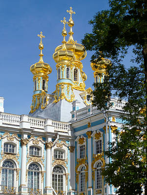 Resurrection Church Catherine Palace Poster