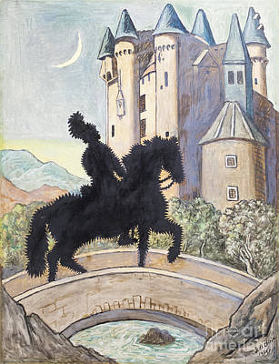 Return To The Castle By Giorgio De Chirico Poster by Roberto Morgenthaler