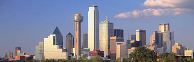 Reunion Tower, Dallas, Sunset, Texas Poster by Panoramic Images