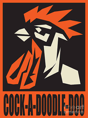 Revolutionary Rooster Poster