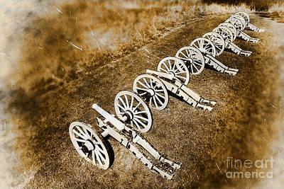 Revolutionary War Cannons Poster