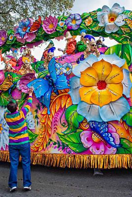 Rex Mardi Gras Parade Poster by Steve Harrington