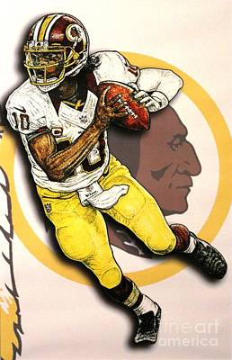 RG3 Poster by Anthony Young