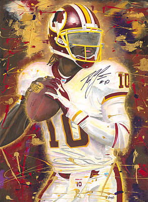 RG3 Poster by Jeff Gomez