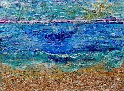 Rhapsody On The Sea  Poster by Regina Valluzzi