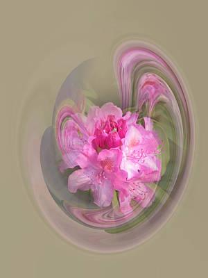 Rhododendron Awakening Poster