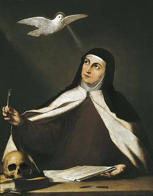 Ribera, Jos� 1588-1652. Santa Teresa De Poster