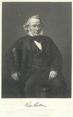 Richard Cobden Poster by British Library