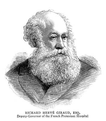 Richard Herve Giraud (1800-1886) Poster by Granger