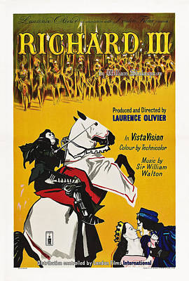 Richard IIi, British Poster Art, 1955 Poster by Everett