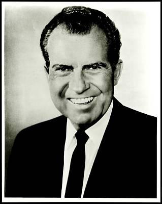 Richard M Nixon Poster