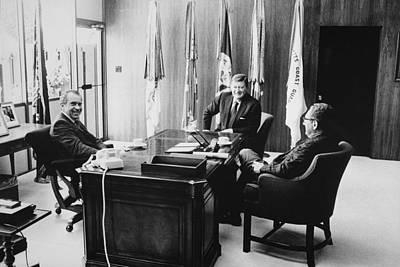 Richard Nixon And Henry Kissinger Poster