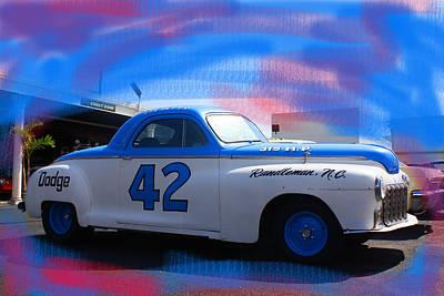 Richard Petty Nascar Poster by Doug Walker
