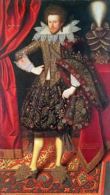 Richard Sackville, 3rd Earl Of Dorset 1589-1624, 1613 Oil On Canvas Poster by William Larkin