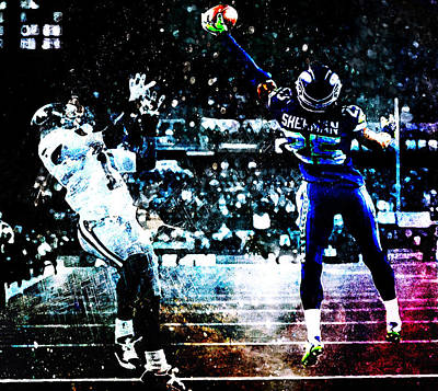 Richard Sherman Give Me That Poster by Brian Reaves