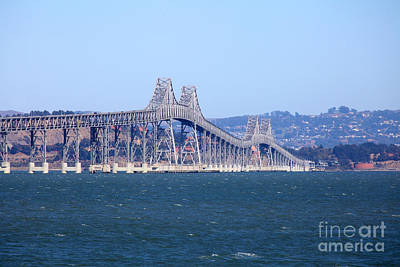 Richmond-san Rafael Bridge In California 5d29480 Poster by Wingsdomain Art and Photography