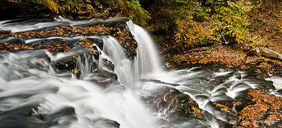 Ricketts Glen - On Top Of The Fall Poster