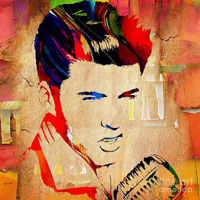 Ricky Nelson Collection Poster by Marvin Blaine