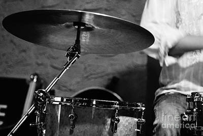 Ride Cymbal Poster by Lynda Dawson-Youngclaus